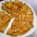 残ったフライドポテト☆食パンで簡単ランチ♪
