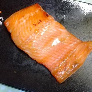 桜マスの味噌漬け焼き