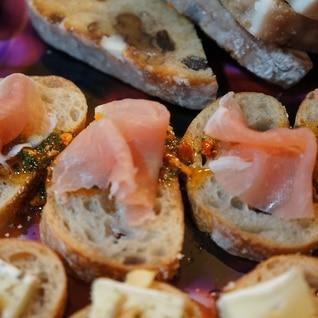 フランスパンで簡単おつまみ