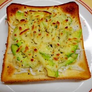 ☆しらすとアボガドのチーズトースト☆