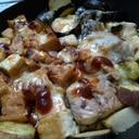 サバとナスのバーベキュー焼き