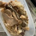 中華あんかけ肉野菜炒め
