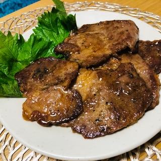 豚方ロース生姜焼き