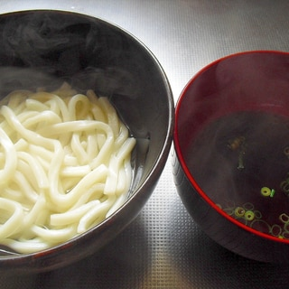 """麺つゆはいりません♪我が家の""""釜揚げうどんのつゆ"""""""
