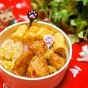 お弁当のおかず★ぷりぷり鶏胸肉の甘辛味噌焼き