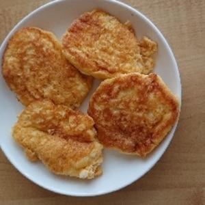 糖質制限★小麦粉不使用★ふわふわおからパンケーキ♡