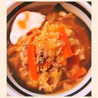 にんじん&キャベツ消費!野菜たっぷりあんかけクッパ