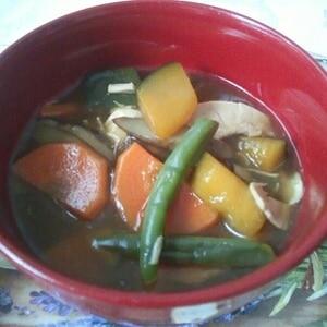 野菜たっぷりけんちん汁