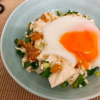 簡単おつまみ☆くずし豆腐