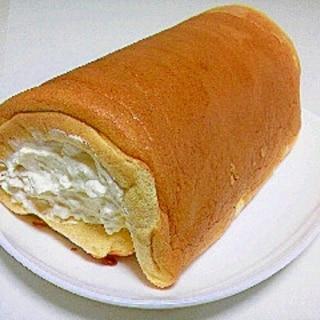 ロールケーキ(あっさりクリームチーズクリーム☆)