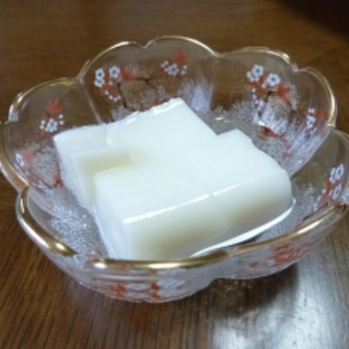 杏仁 豆腐 作り方