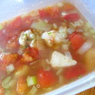 トマトセロリフォーガースープ