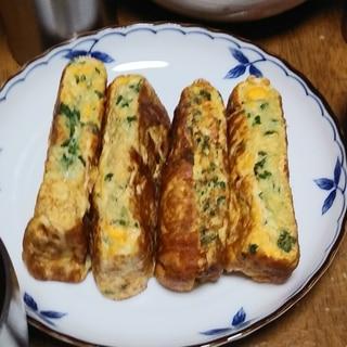 ピリ辛卵焼き 一味