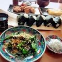 万願寺唐辛子の甘生姜焼き