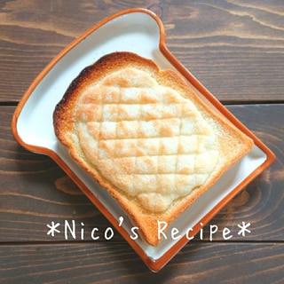 メロンパン風トースト