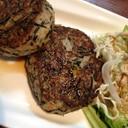 たんまりひじきの豆腐ハンバーグ