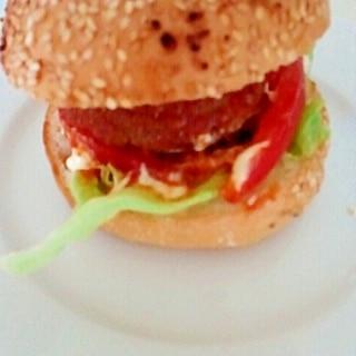 モス風☆ハンバーガー