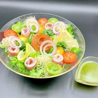 ホワイトデーに♡簡単ブーケサラダ