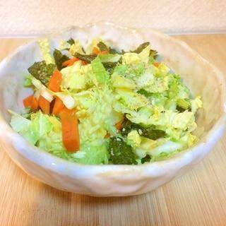 ぬか漬けと野菜で腸も喜ぶもりもりサラダ