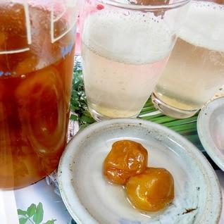 梅の実も美味しく食べられる梅シロップ