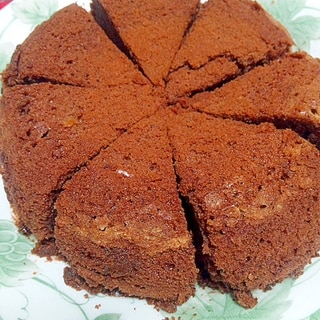 炊飯器で簡単☆チョコレートケーキ