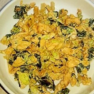 焼き海苔卵のしょうゆ炒め