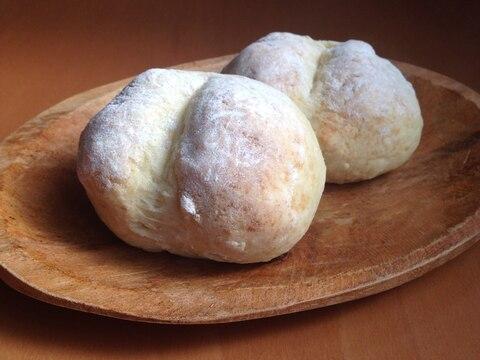 ホットケーキミックスで♪白パン