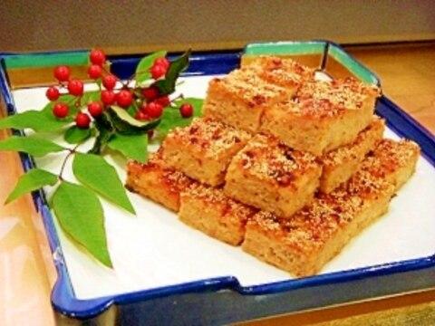 おせち料理・鶏肉の松風焼き