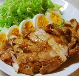 鶏むね肉のはちみつジンジャー煮