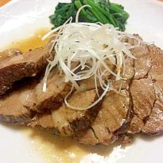 豚肉の紅茶煮★チャーシュー
