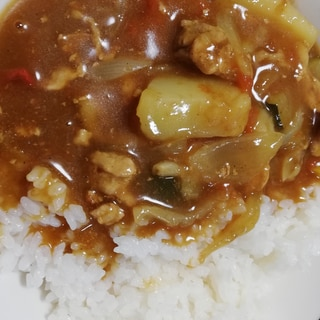 夏野菜カレー(基本レシピ)