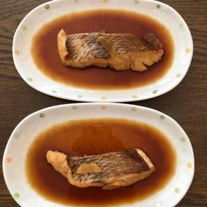 ご飯がすすむ~!鯛の煮付け