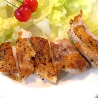 簡単!激ウマ、鳥もも肉のステーキ♪
