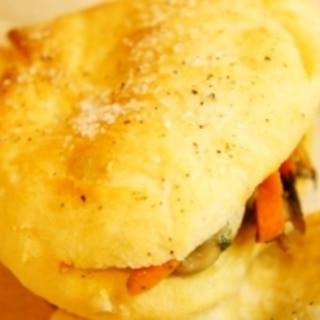 毎日食べるパンだから、イタリア素朴パン、チャパッタ