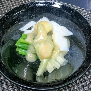 てっぱい(いかの酢味噌和え)