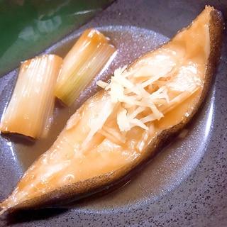 ザ・煮魚!からすがれいの煮付け