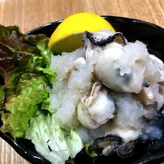 冬☆牡蠣のみぞれ煮☆鉄分補給