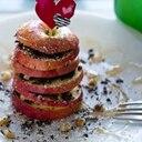 火を使わず5分で簡単!りんごのミルフィーユチョコ。