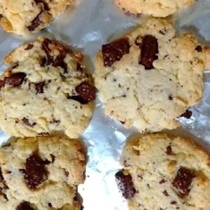 ホワイトデー ♡ 簡単 チョコチップクッキー ♪