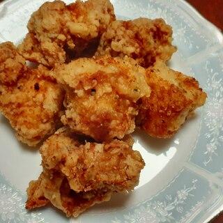 簡単節約☆鶏胸肉のマヨペッパー唐揚げ