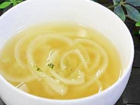 新玉ねぎで優しい♪オニオンスープ
