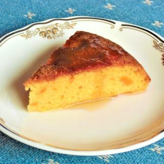 卵・バター・砂糖無し、炊飯器でかぼちゃケーキ