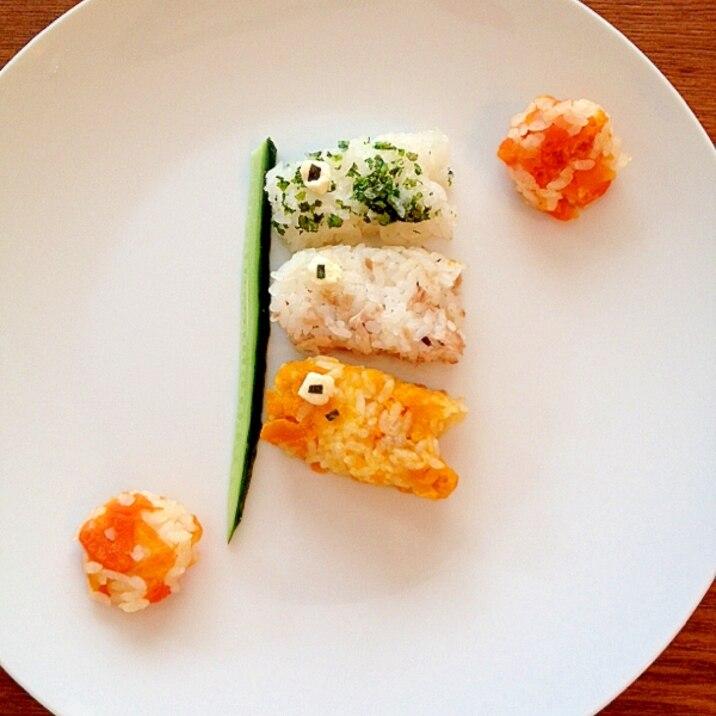 離乳食☆初節句の鯉のぼりプレート