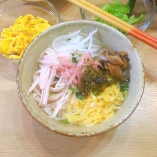 奄美の郷土料理☆鶏飯(けいはん)