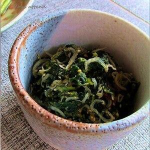 若ごぼう(葉ごぼう)の葉の佃煮