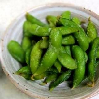 簡単おつまみ★ツンとくるワサビ枝豆