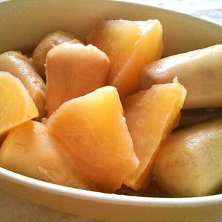 持ち寄りに♪圧力鍋で里芋と大根のたっぷり煮物♡