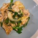 豚バラのピリ辛生姜焼き