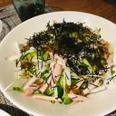 居酒屋の大根サラダ