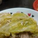 ☆キャベツと豚肉の重ね蒸し煮
